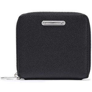 Rebecca Minkoff Women's Zip Pebble Leather Wallet